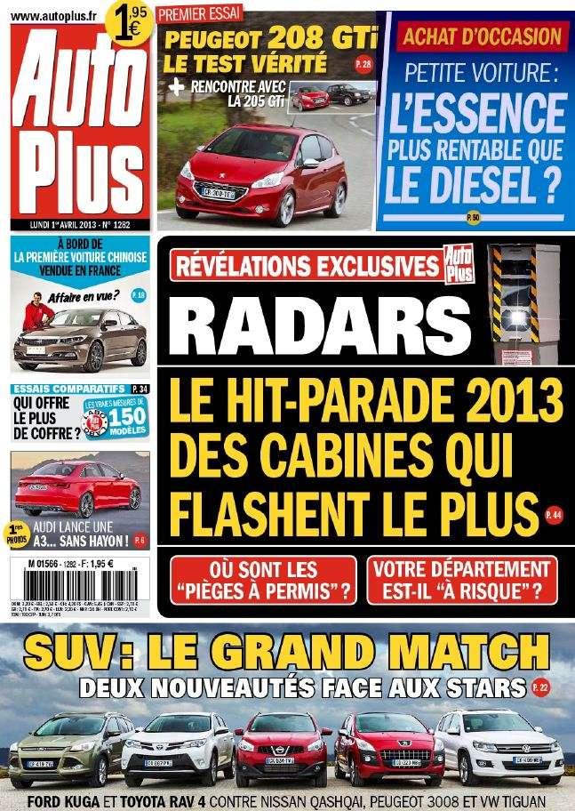 Auto Plus N°1282 du 1er au 07 Avril 2013