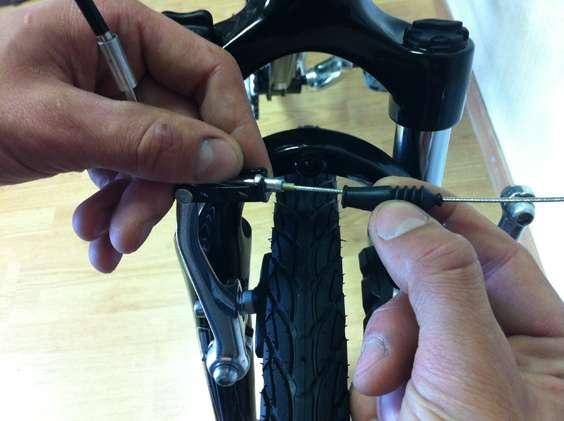 Правильная установка тормоза v-brake