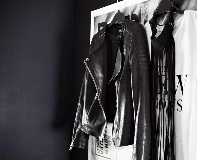 The Padded Leather Jacket