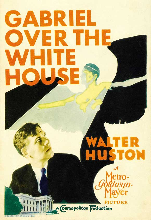 5258371020a Gregory La Cava   Gabriel Over the White House (1933)