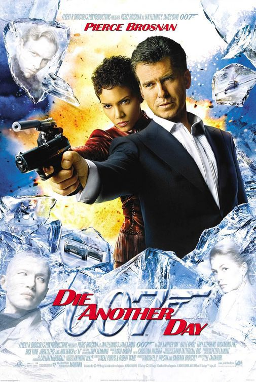 James Bond 007 Die Another Day Poster