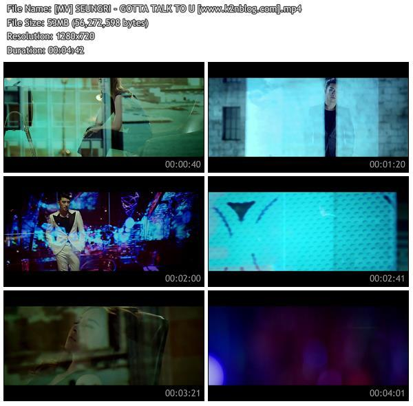 (MV) SEUNGRI - GOTTA TALK TO U (HD 720p Youtube)